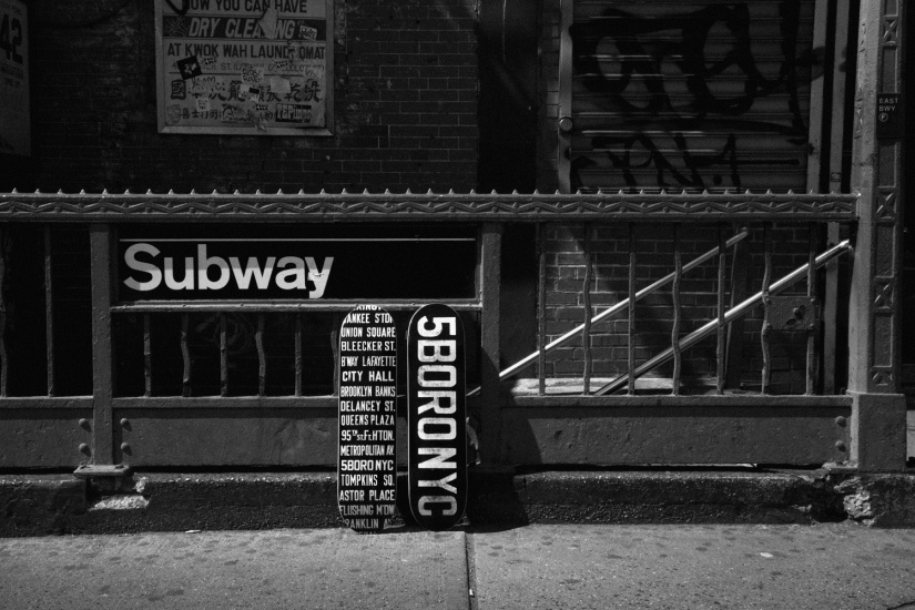 Subway Roll Sign Lookbook 1